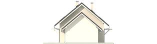 Projekt domu Morena II G1 - elewacja lewa