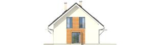 Projekt domu Morena II G1 - elewacja prawa