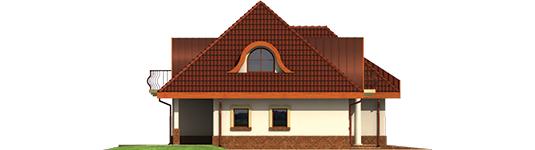 Inca G2 - Projekt domu Inka G2 - elewacja lewa