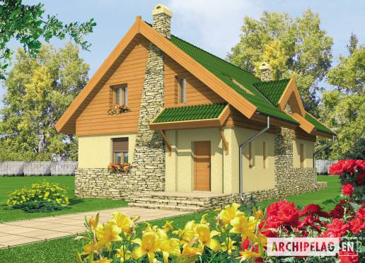 House plan - Aldona