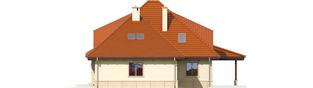 Projekt domu Petra II G2 - elewacja prawa