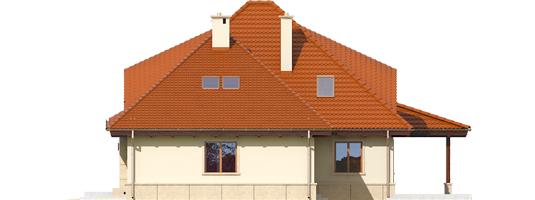 Petra II G2 - Projekty domów ARCHIPELAG - Petra II G2 - elewacja prawa
