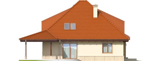 Petra II G2 - Projekty domów ARCHIPELAG - Petra II G2 - elewacja lewa