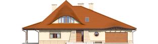 Projekt domu Petra II G2 - elewacja frontowa