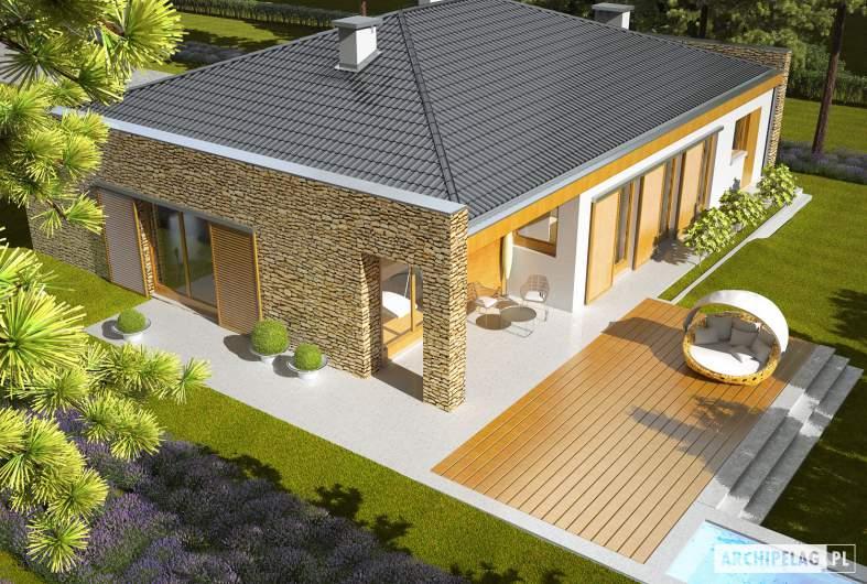 Projekt domu Marlon IV G1 - widok z góry