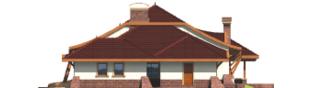 Projekt domu Henryk G1 - elewacja prawa