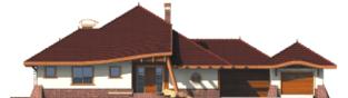 Projekt domu Henryk G1 - elewacja frontowa