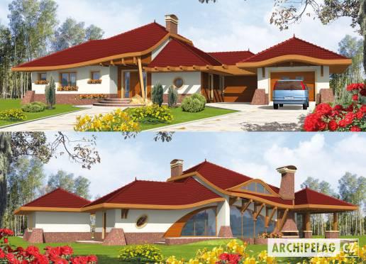 Projekt rodinného domu - Jindřich