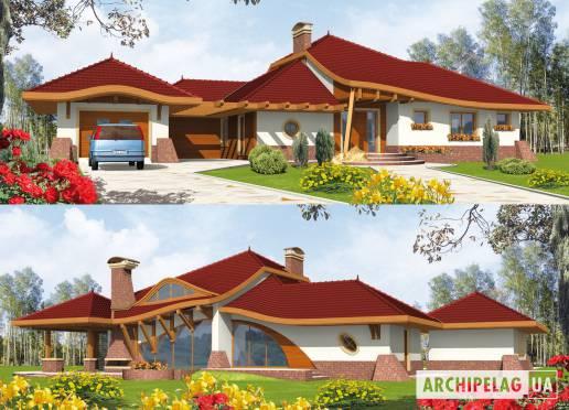 Проект дома - Генрих (Г1)
