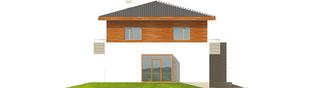 Projekt domu Dao G1 - elewacja lewa