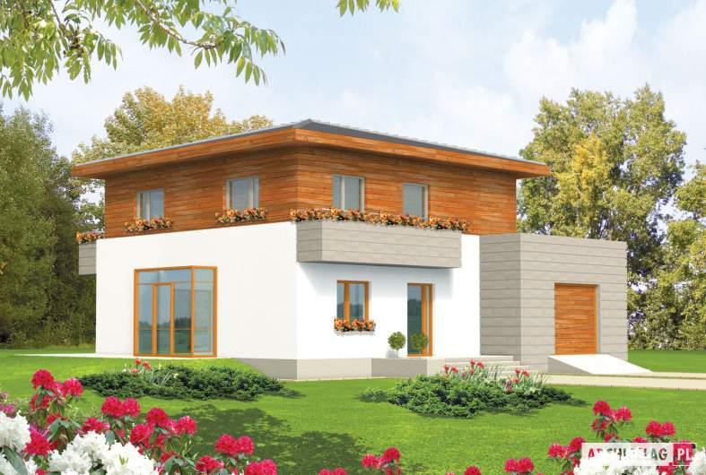 Projekt domu Dao G1 - wizualizacja frontowa