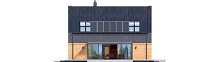 Projekt domu EX 16 G1 - elewacja lewa