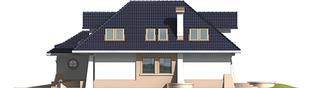Projekt domu Milena II G1 - elewacja prawa