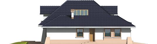 Milena II G1 - Projekt domu Milena II G1 - elewacja lewa