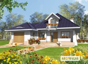 Projekt domu Milena II G1 - animacja projektu