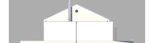 Projekt domu EX 8 G2 (wersja A) soft - elewacja lewa