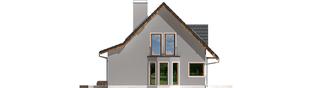 Projekt domu Demi G1 (wersja B) - elewacja lewa