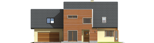 Projekt domu Hugo G2 - elewacja frontowa