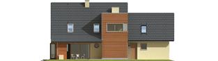 Projekt domu Hugo G2 - elewacja tylna