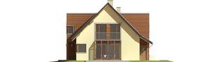 Projekt domu Hugo G2 - elewacja prawa