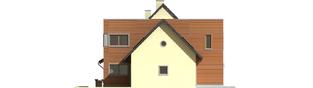 Projekt domu Hugo G2 - elewacja lewa