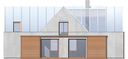Nikita - Projekt domu Nikita - elewacja prawa