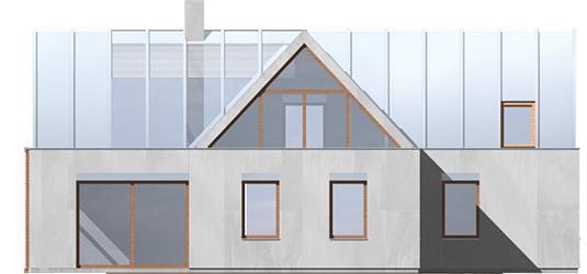 Nikita - Projekt domu Nikita - elewacja lewa