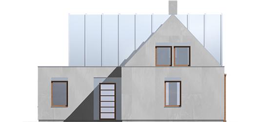 Nikita - Projekt domu Nikita - elewacja frontowa