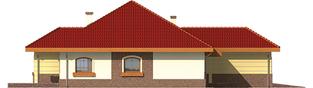 Projekt domu Cezaria G1 - elewacja lewa