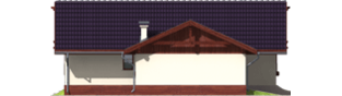 Projekt domu Romina G2 - elewacja lewa
