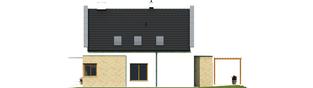 Projekt domu Tymoteusz G1 - elewacja prawa