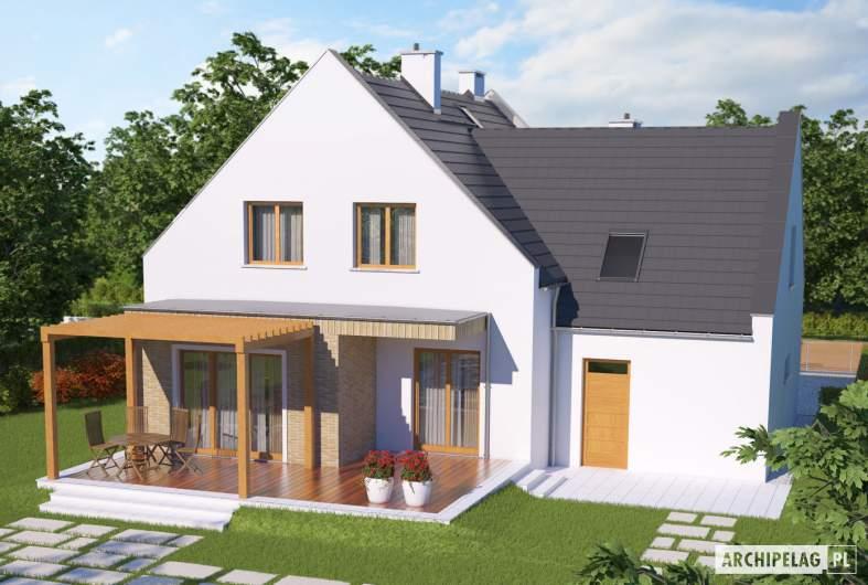 Projekt domu Tymoteusz G1 - widok z góry