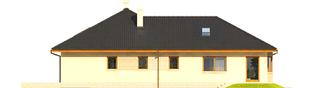 Projekt domu Alan IV G2 - elewacja lewa