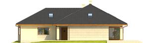 Projekt domu Alan IV G2 - elewacja prawa