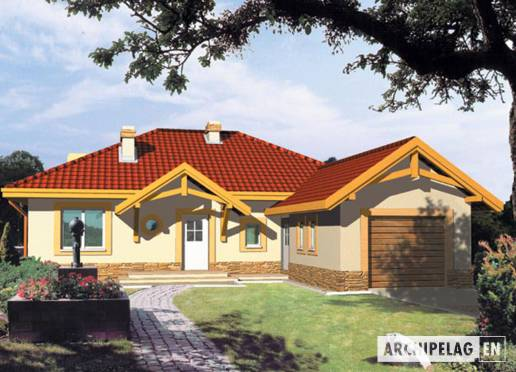 House plan - Kinga G1