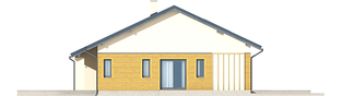 Projekt domu Armando G1 ENERGO - elewacja prawa