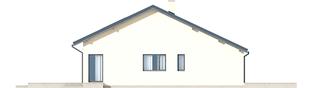 Projekt domu Armando G1 ENERGO - elewacja lewa