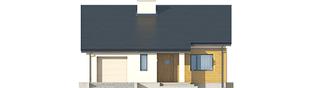 Projekt domu Armando G1 ENERGO - elewacja frontowa