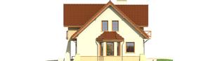 Projekt domu Andrzej G1 - elewacja prawa