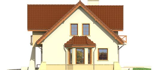 Andrius G1 - Projekty domów ARCHIPELAG - Andrzej G1 - elewacja prawa