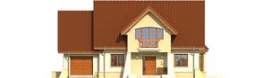 Projekt domu Andrzej G1 - elewacja frontowa