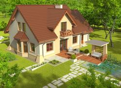 Projekt rodinného domu: Ondřej G1