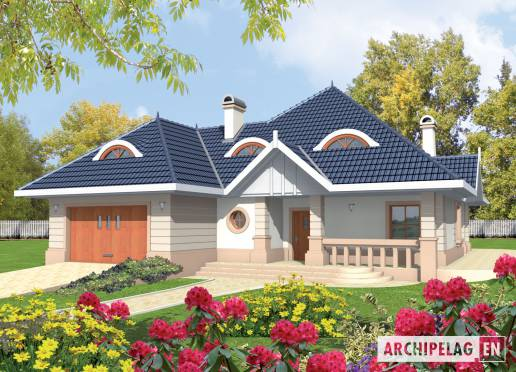 House plan - Daniela G2