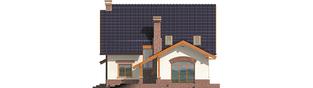 Projekt domu Nastka G1 (z piwnicą) - elewacja tylna