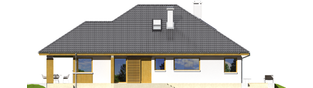 Projekt domu Glen III - elewacja prawa