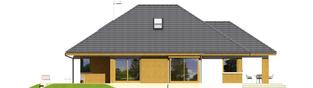 Projekt domu Glen III - elewacja lewa