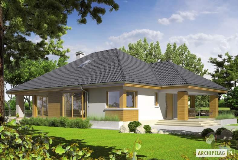 Projekt domu Glen III - wizualizacja frontowa