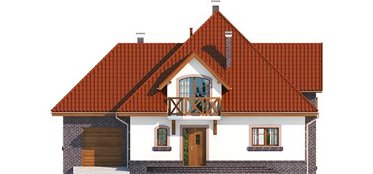 Grande G1 - Projekt domu Grande G1 - elewacja frontowa