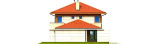 Projekt domu Rodrigo G2 MULTI-COMFORT - elewacja prawa