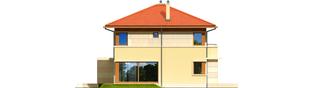 Projekt domu Rodrigo G2 MULTI-COMFORT - elewacja lewa